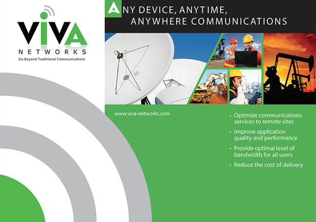 Viva Networks Trade Show Booth