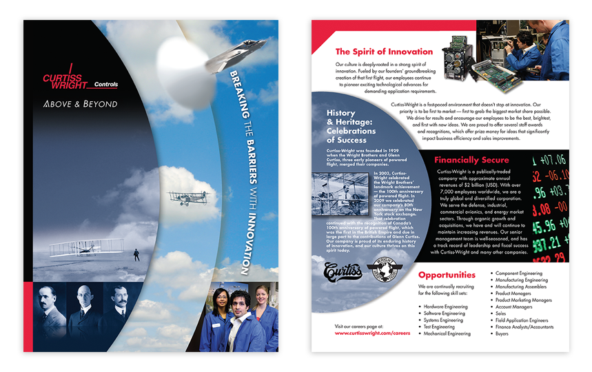 Curtiss Wright: Recruiting Brochure